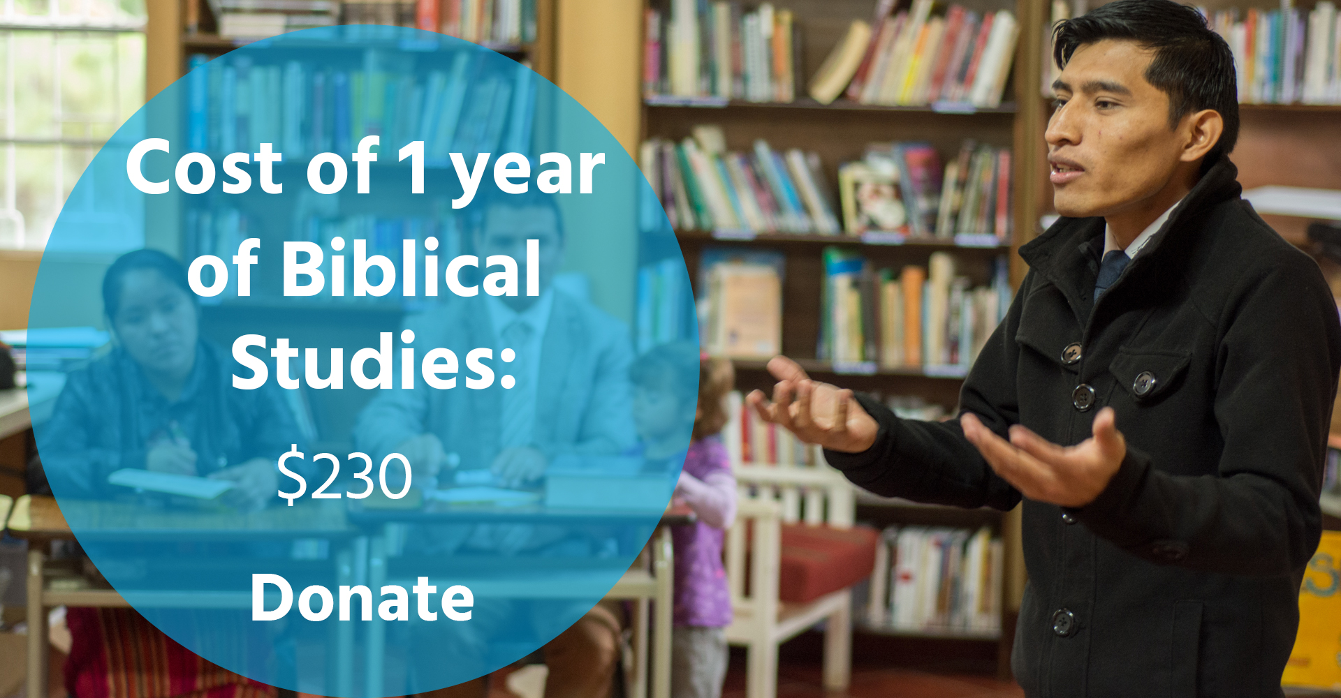 The Cost of One Year of Biblical Studies: $230